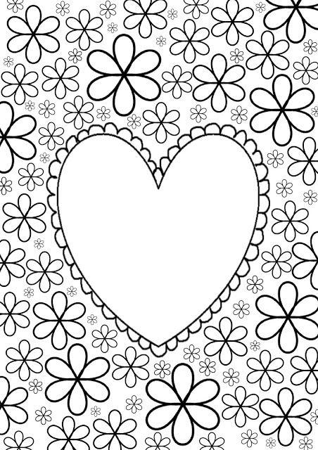 Kleurplaten Volwassenen Valentijn.Jalien Cozy Living Diy Kleurplaat Voor Volwassenen Valentijn