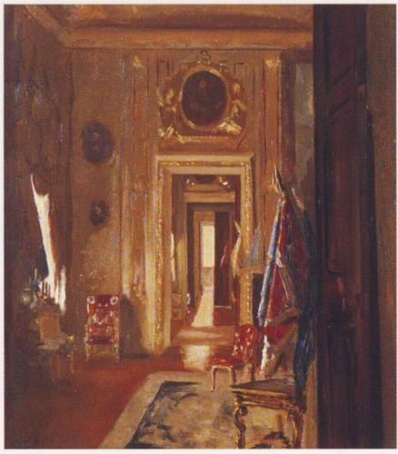 State Room at Blenheim Palace - Winston Churchill