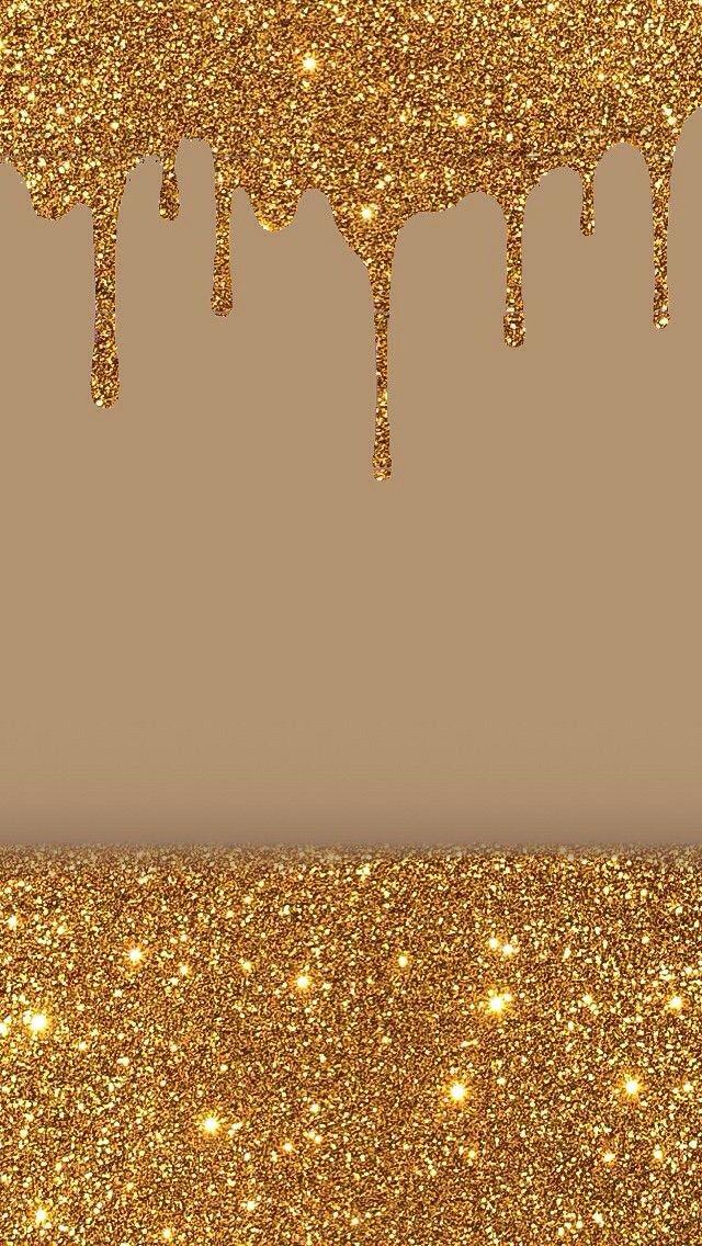 Stellen Sie sich vor, Schnee wäre aus Gold... #goldglitterbackground