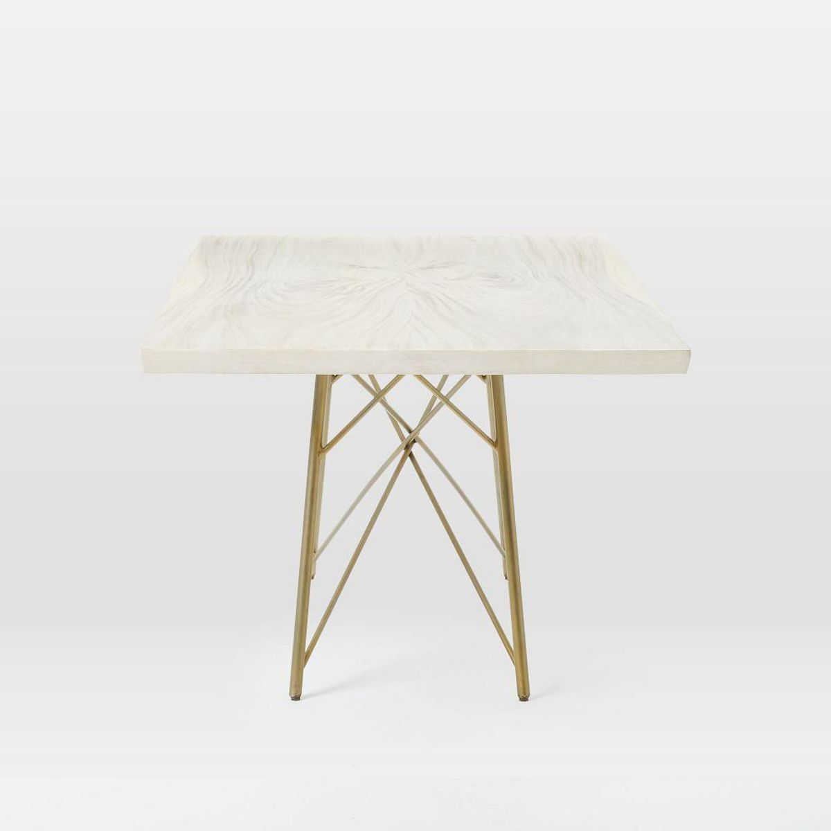 Sierra Dining Table Whitewashed