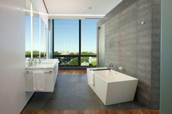 Bathroom At Stylish Ultra Modern Penthouse Design Ideas  Bathroom Fascinating Ultra Modern Bathroom Designs Design Ideas