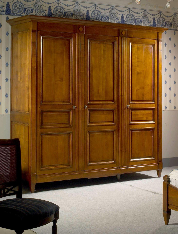 Armoire 3 portes, style Directoire - Meubles Richelieu | Armoires ...