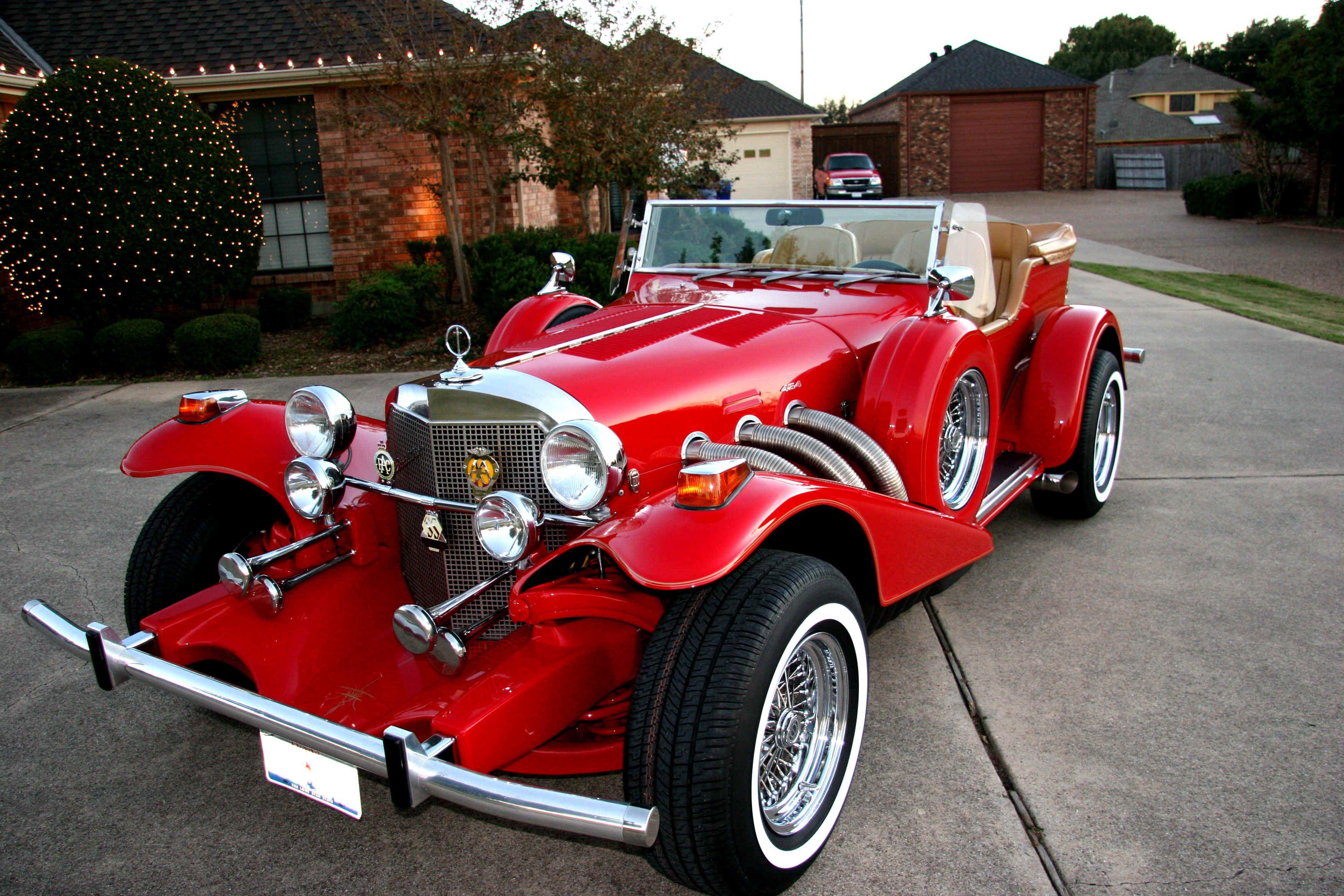 Excalibur Phaeton Classic Cars Antique Cars Cars
