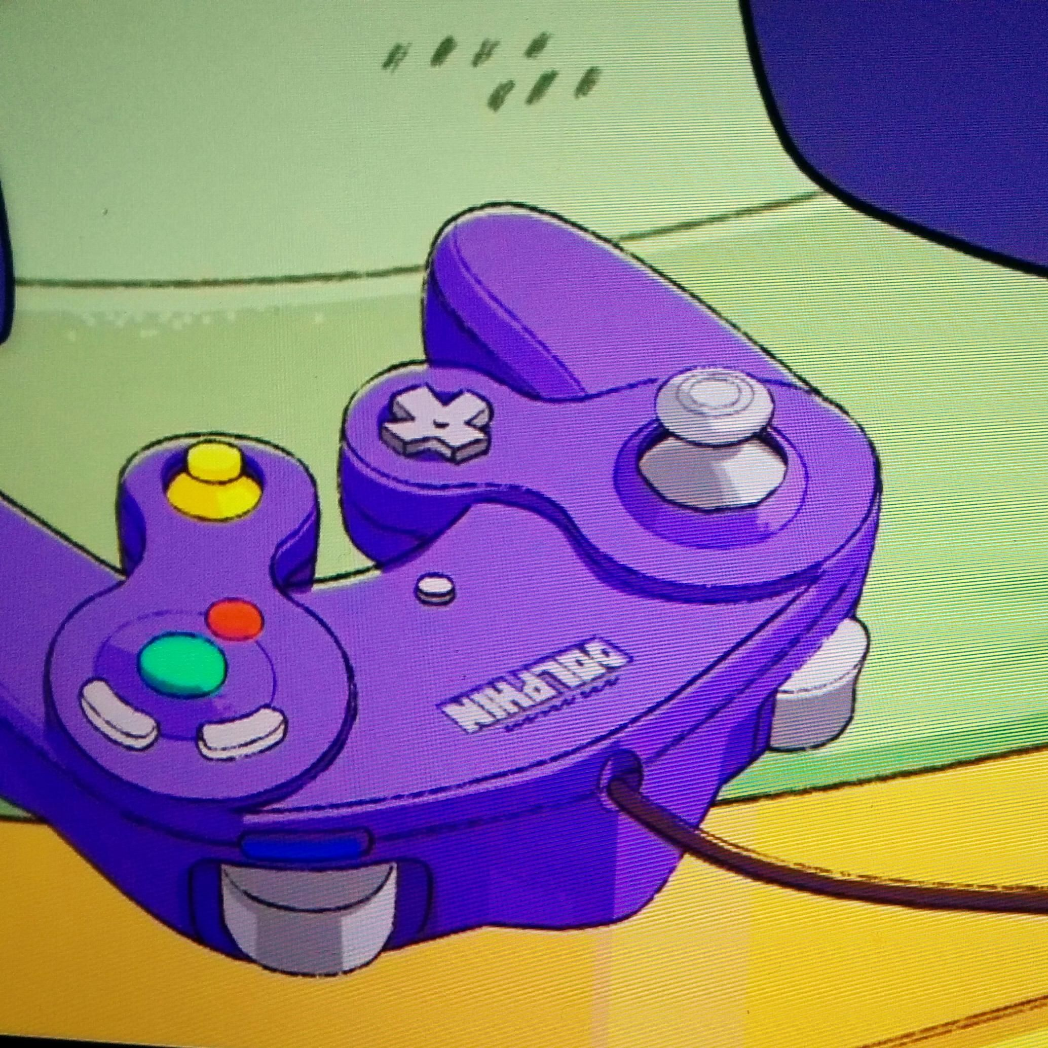 Has anyone else noticed the GameCube controller on S03E19(steven