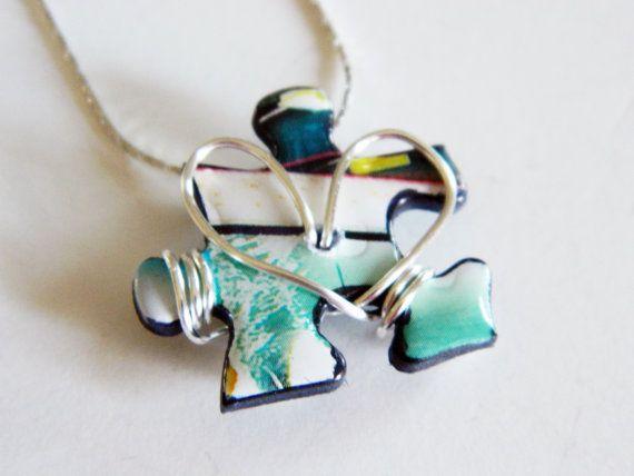 J'ai le cœur collier pendentif autisme par June8Jewelry sur Etsy, $18.00