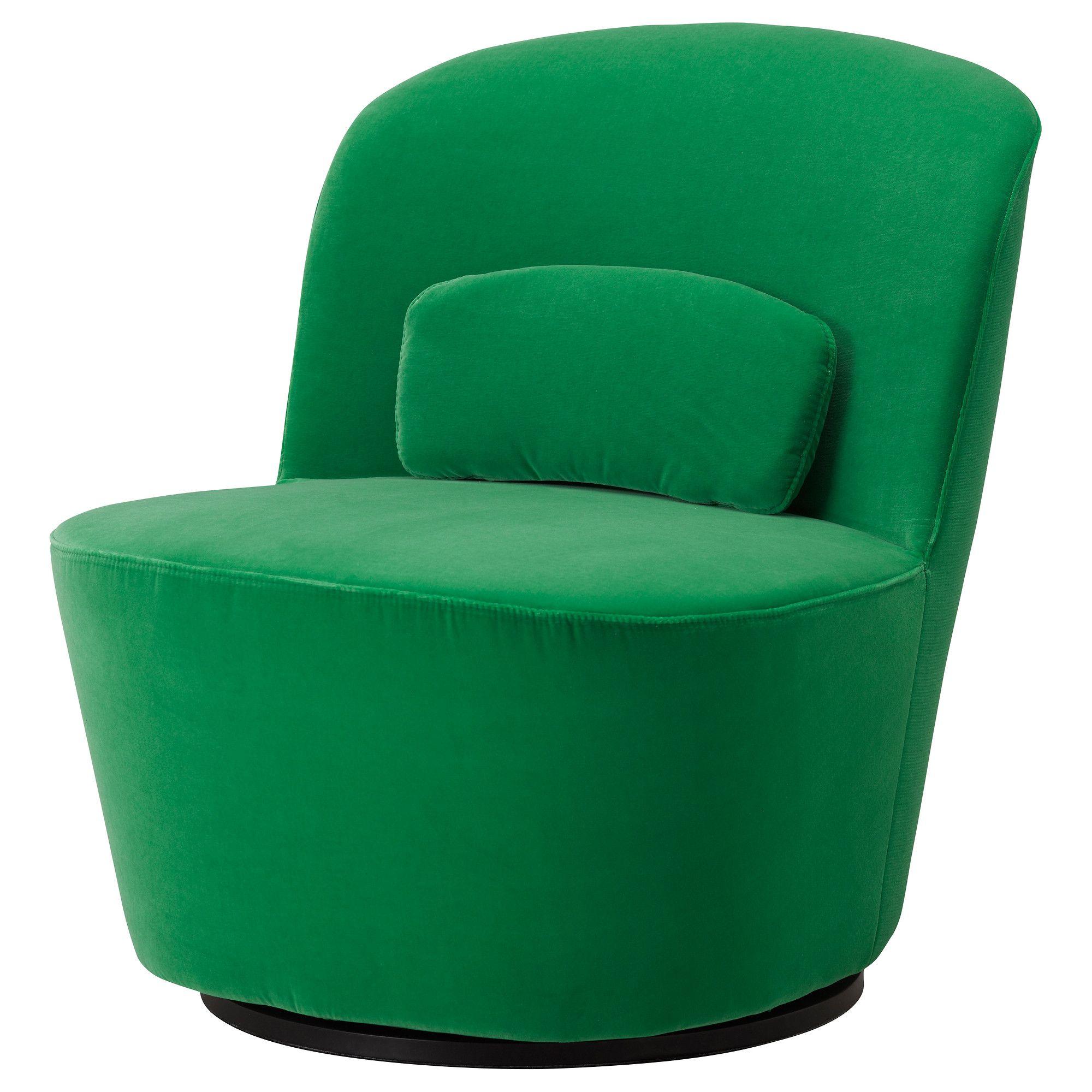 STOCKHOLM Draaifauteuil Sandbacka groen IKEA