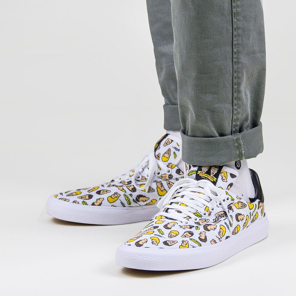 Adidas 3MC VLC X Beavis and Butthead Men's Sneaker in Cloud