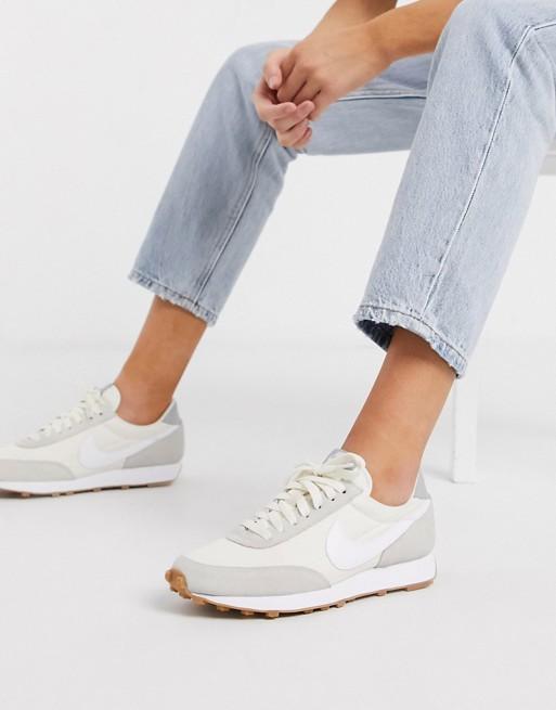 Nike Daybreak gray Gum Sole sneakers in