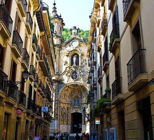 San Sebastian Old Town In 2019 San Sebastian Spain Spain