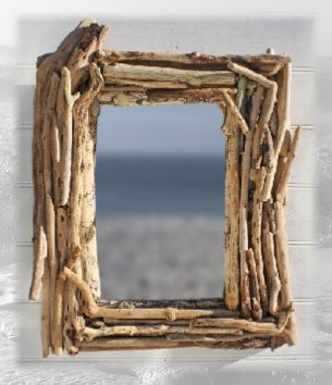driftwood picture frameexcept i could use scraps from