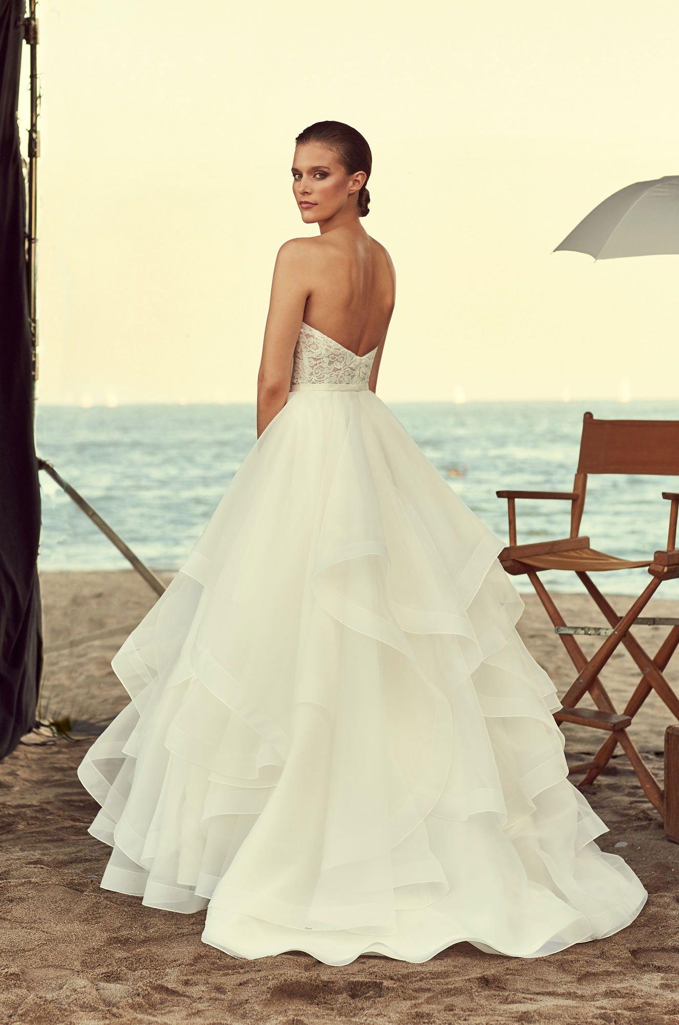 6f9079ba5b1 Strapless Corset Wedding Dress - Style  2192 in 2019