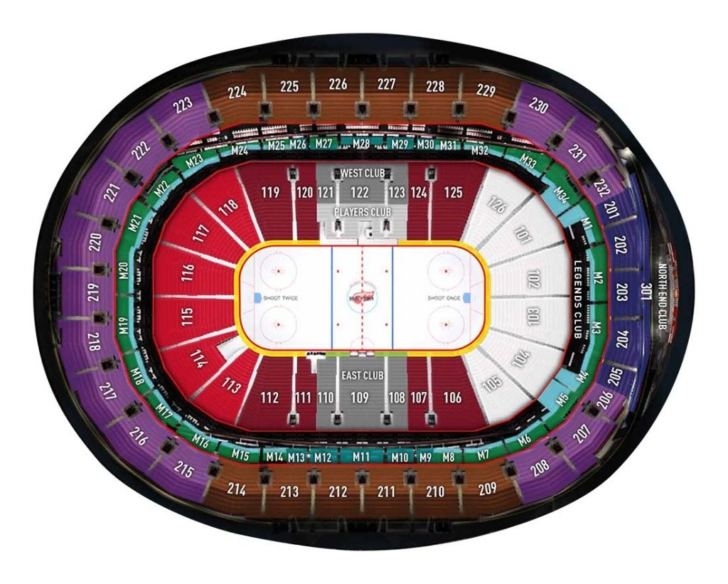 Amazing Detroit Red Wings Seating Chart