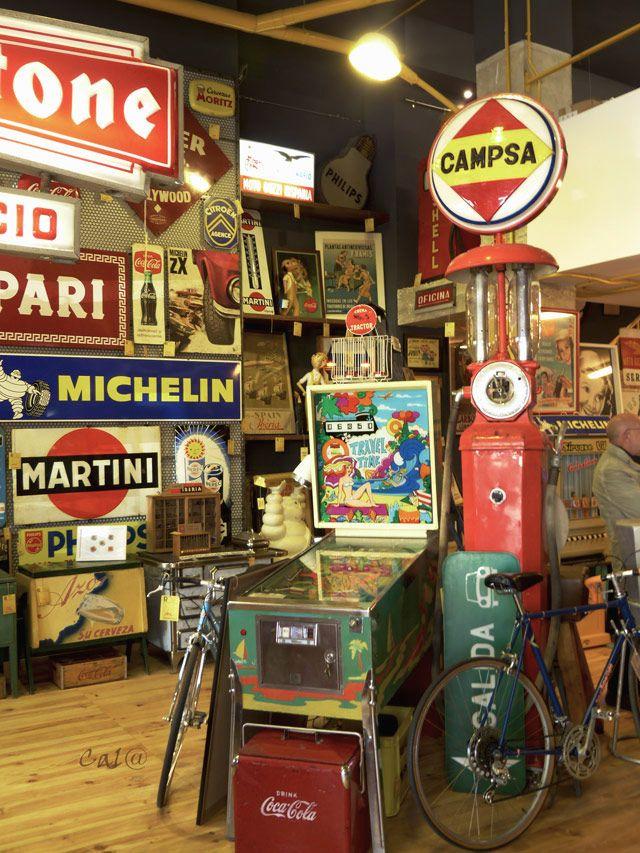 Tienda retro vintage: Retroriginal - dintelo.es #garagemancaves
