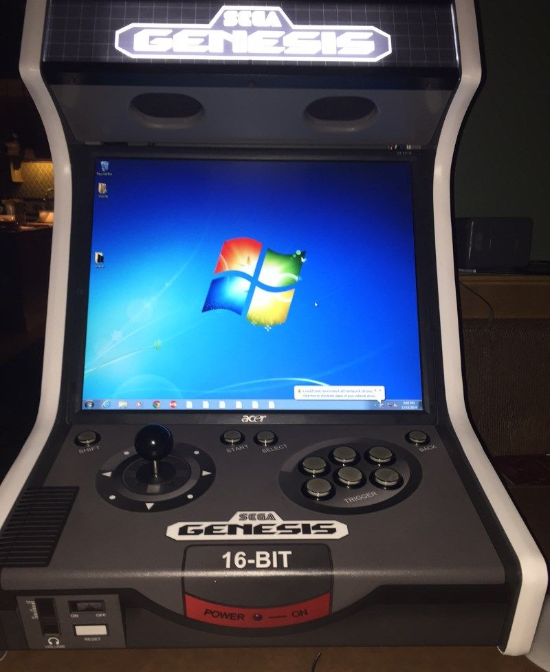 Sega Genesis Bartop Complete Now With Plans Arcade Video