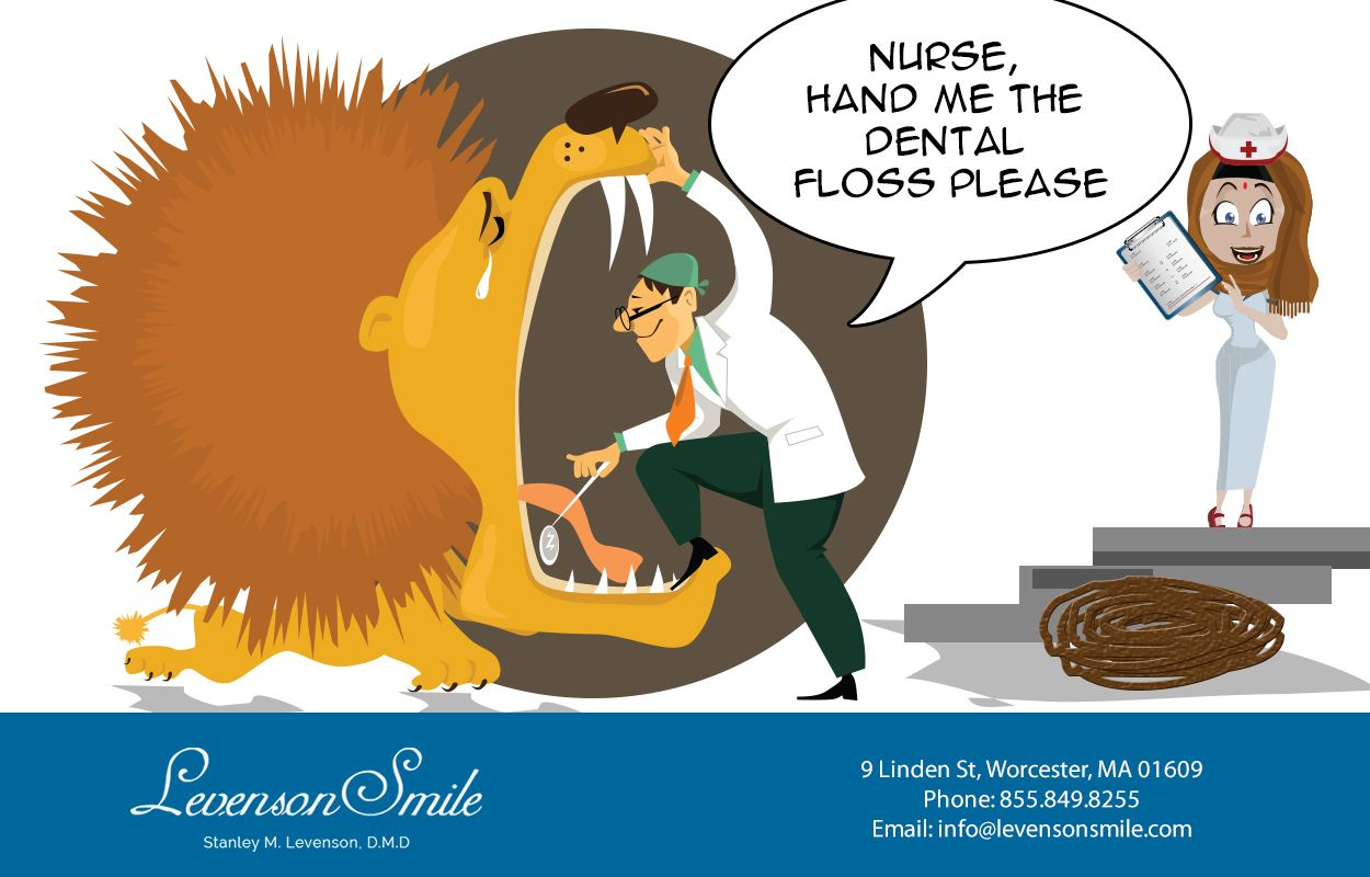 Flossing might seem like a big job, but you can do it!  #DentistWorcester