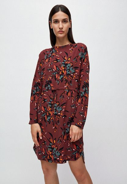 ARMEDANGELS - EDURNAA FALLING LEAVES - Damen Kleid aus LENZING ECOVERO | Avocadostore #fallingleaves