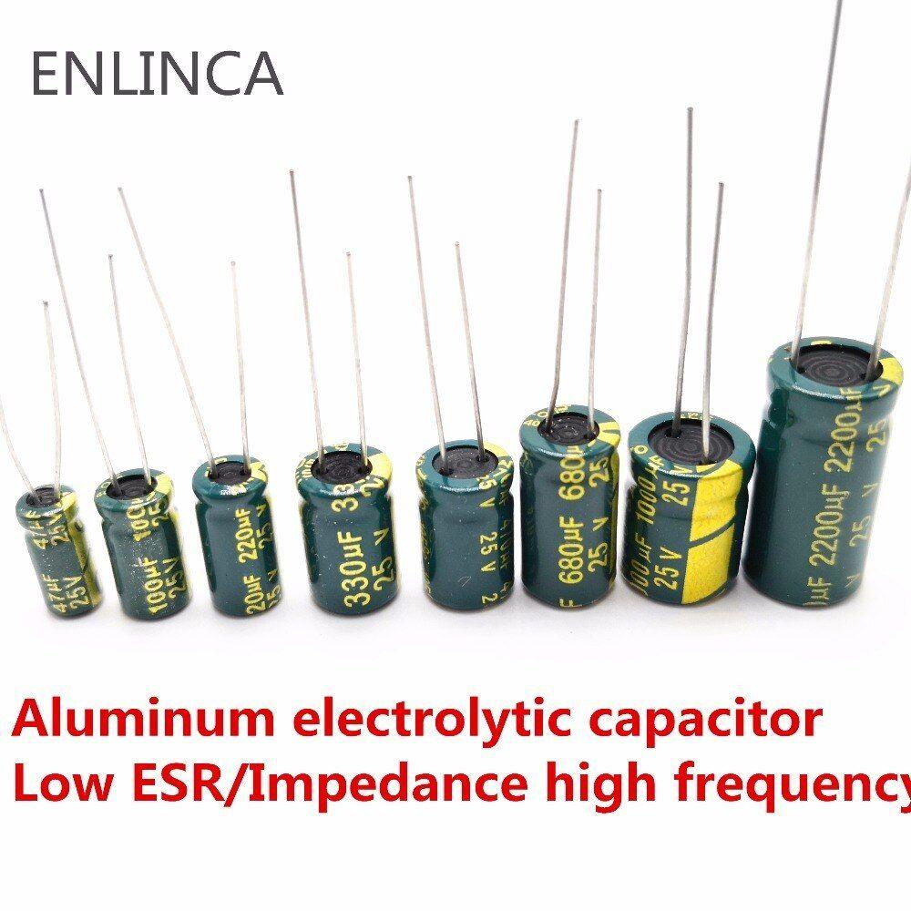 33uf  10v   electrolytic capacitors FREE SHIPPING 12 pcs