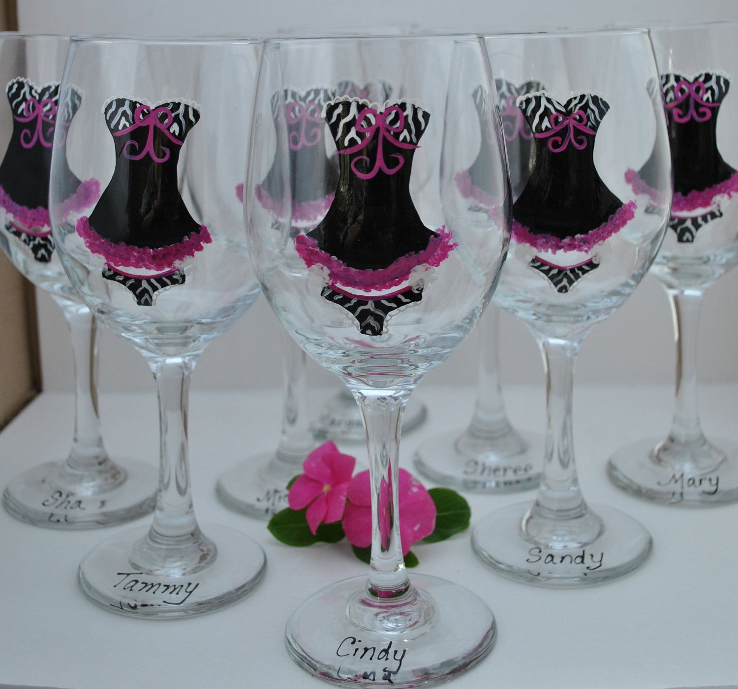 glasses party wedding wine glasses