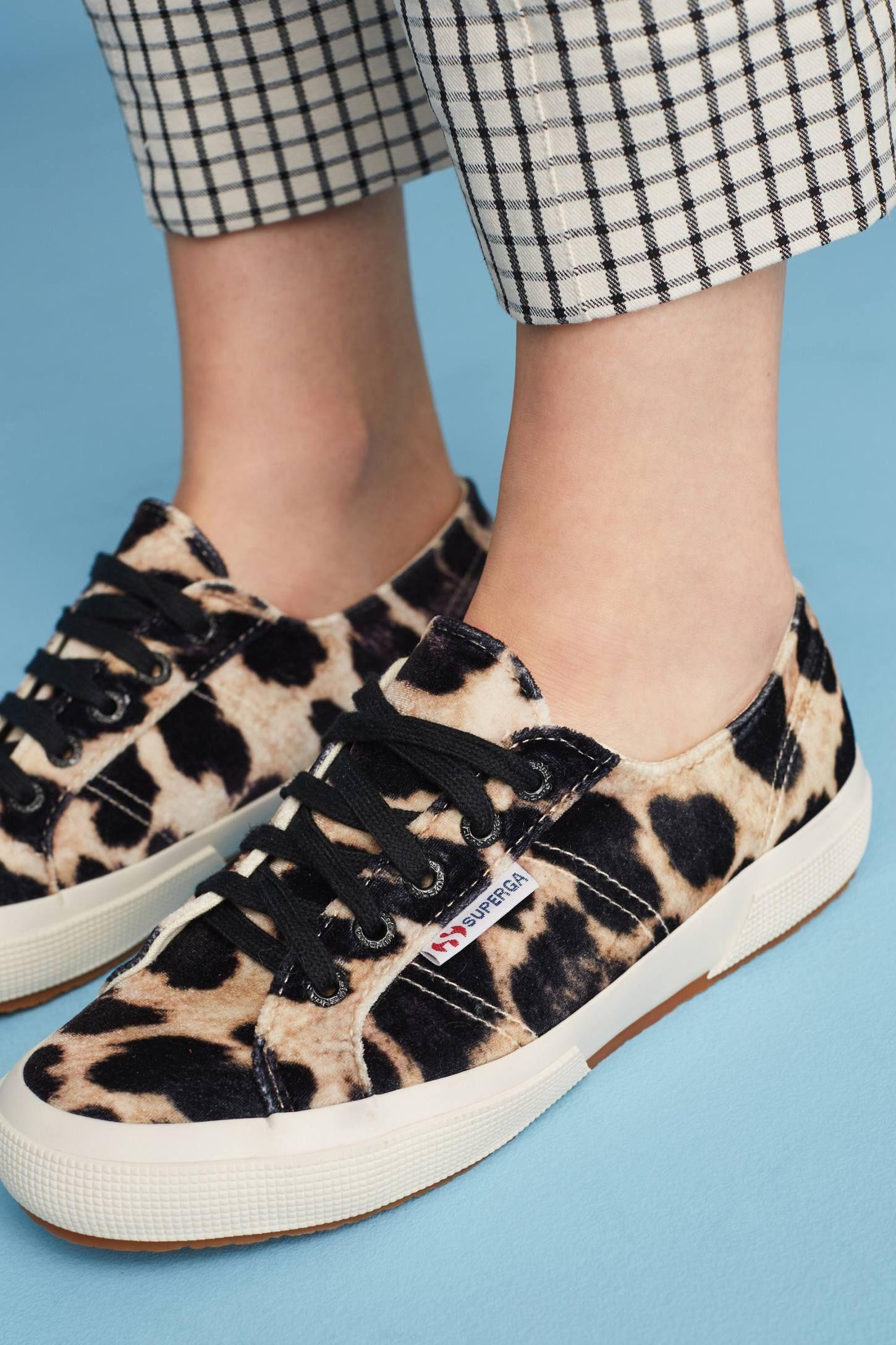 Velvet sneakers, Superga velvet