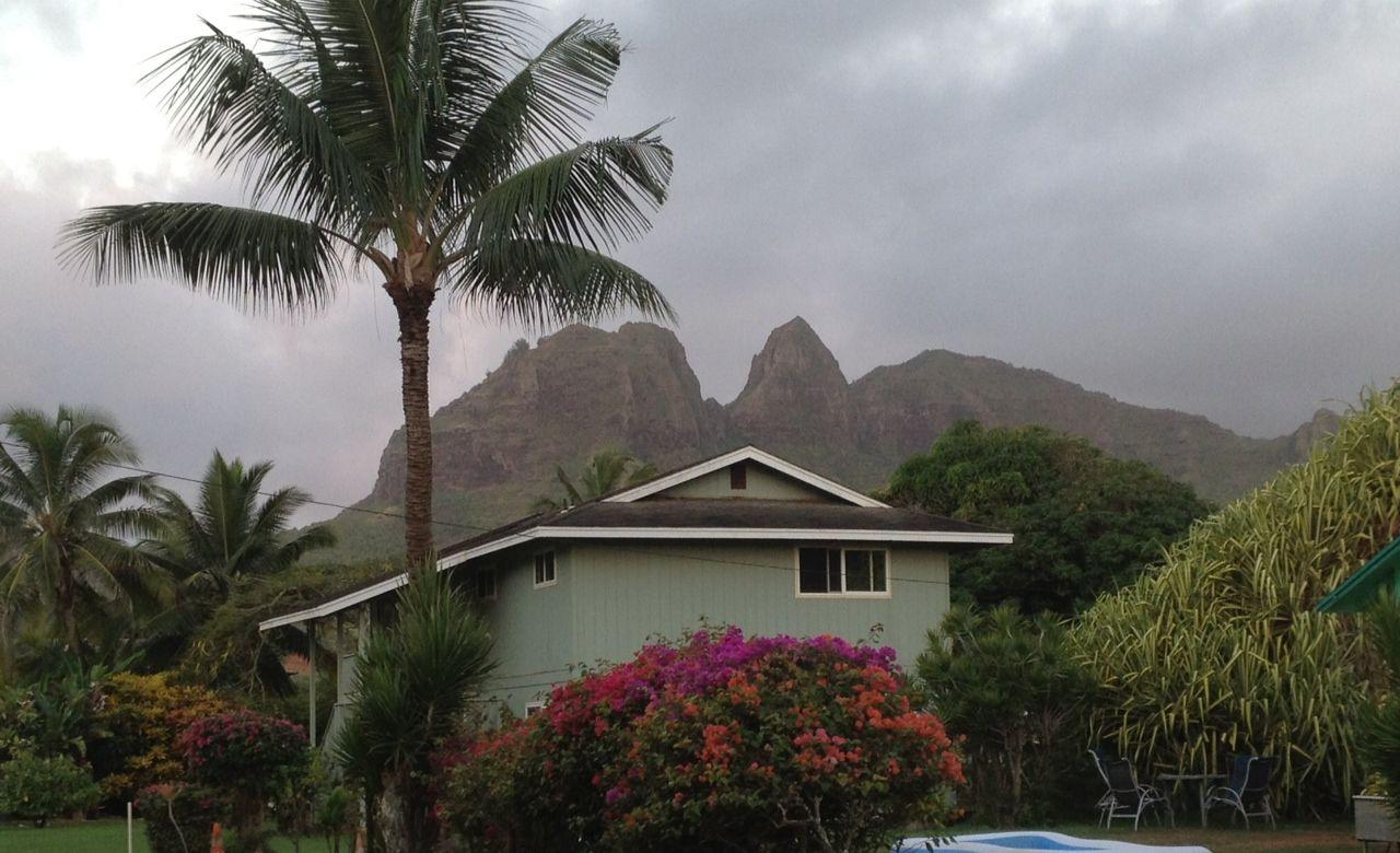 OUR HOUSE IN ANAHOLA KAUAI