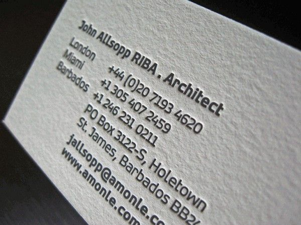 40 architects business cards for delivering your message the 40 architects business cards for delivering your message the creative way reheart Images
