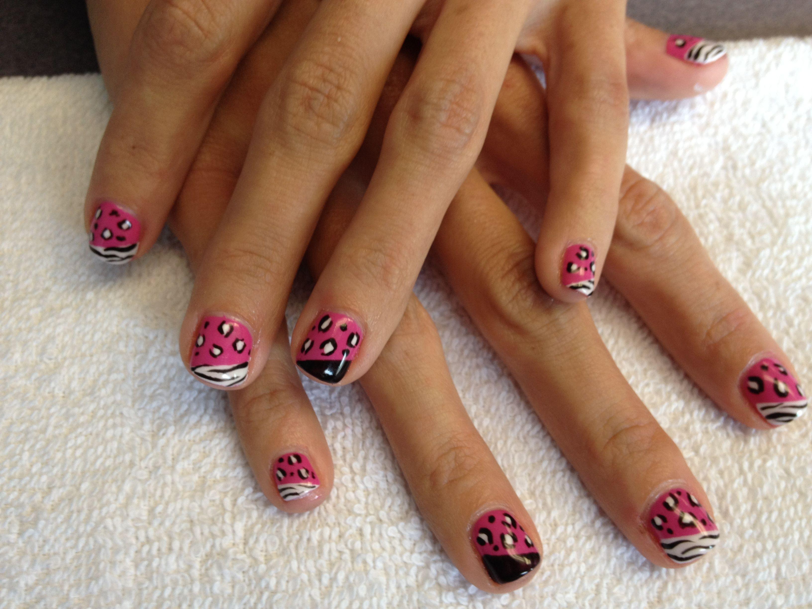 shellac nail design done by doshi doshi regan - Shellac Nail Design Ideas