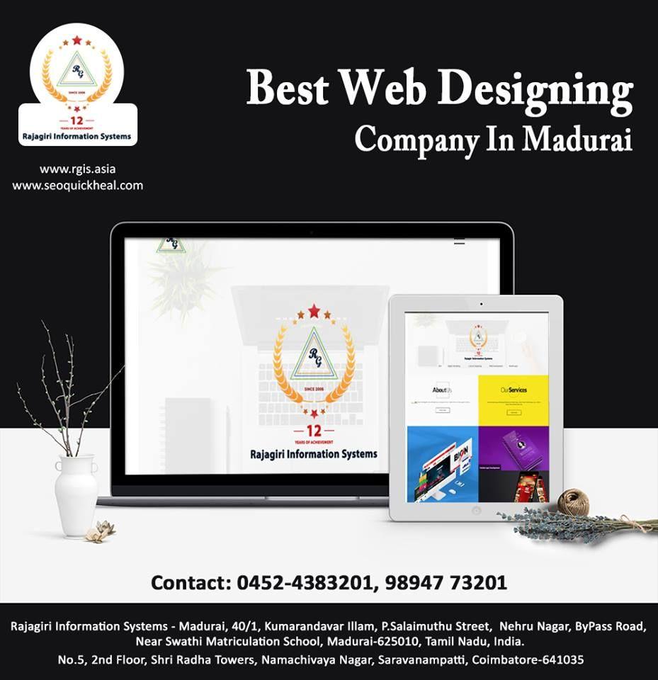 Best Web Designing Company In Madurai Best Digital Marketing Company Unique Web Design Web Design