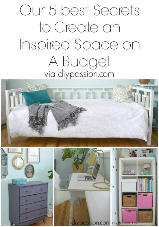How to furnish and decorate a room for less than $1000 Home Decor