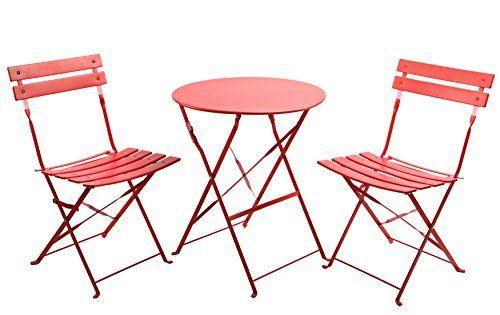Finnhomy 3 Piece Outdoor Patio Furniture Sets Outdoor Bistro Sets