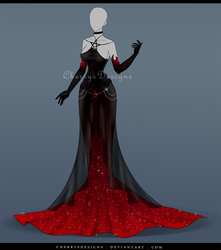 (closed) Outfit Adopt 640 - Persephone by CherrysD