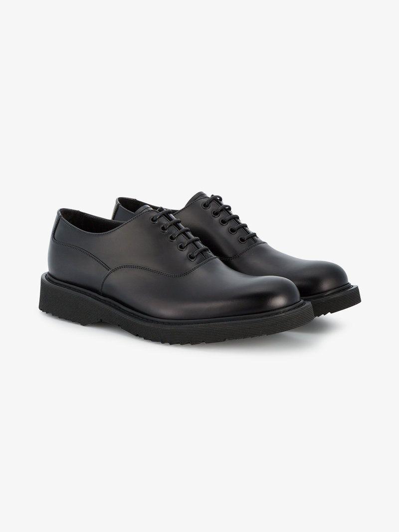Prada Black Chunky Sole Sneakers GzK9rC9SOZ