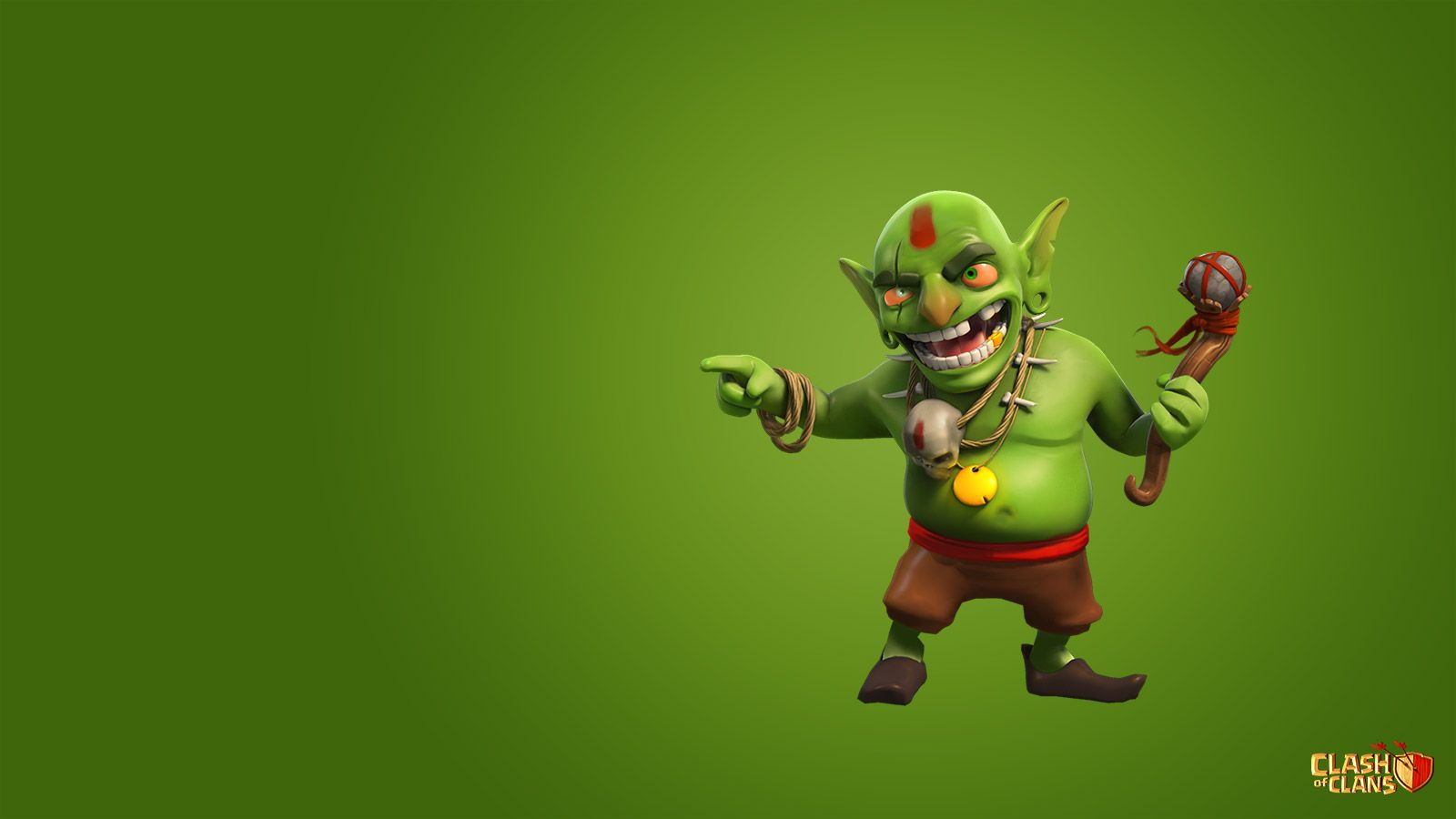 Image For Clash Clans Goblin HD 15 Wallpaper Dengan