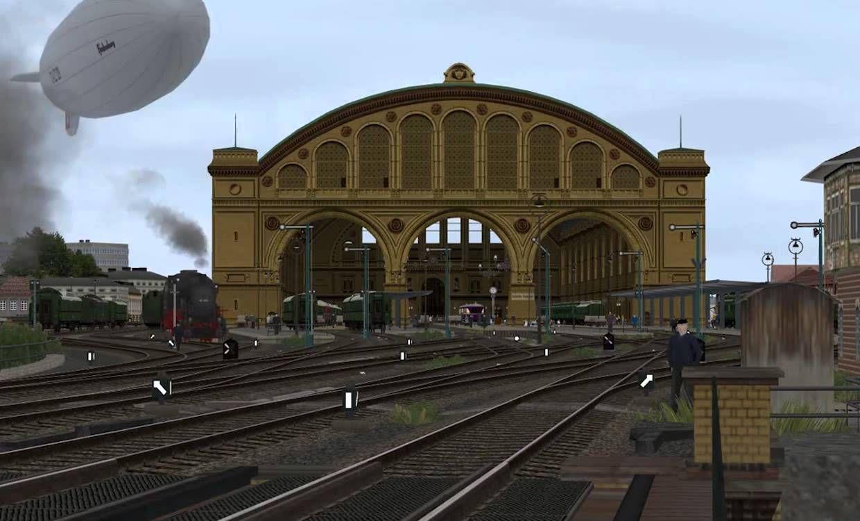 Deutsche Reichsbahn Anhalter Bahnhof Berlin, Betrieb vorm