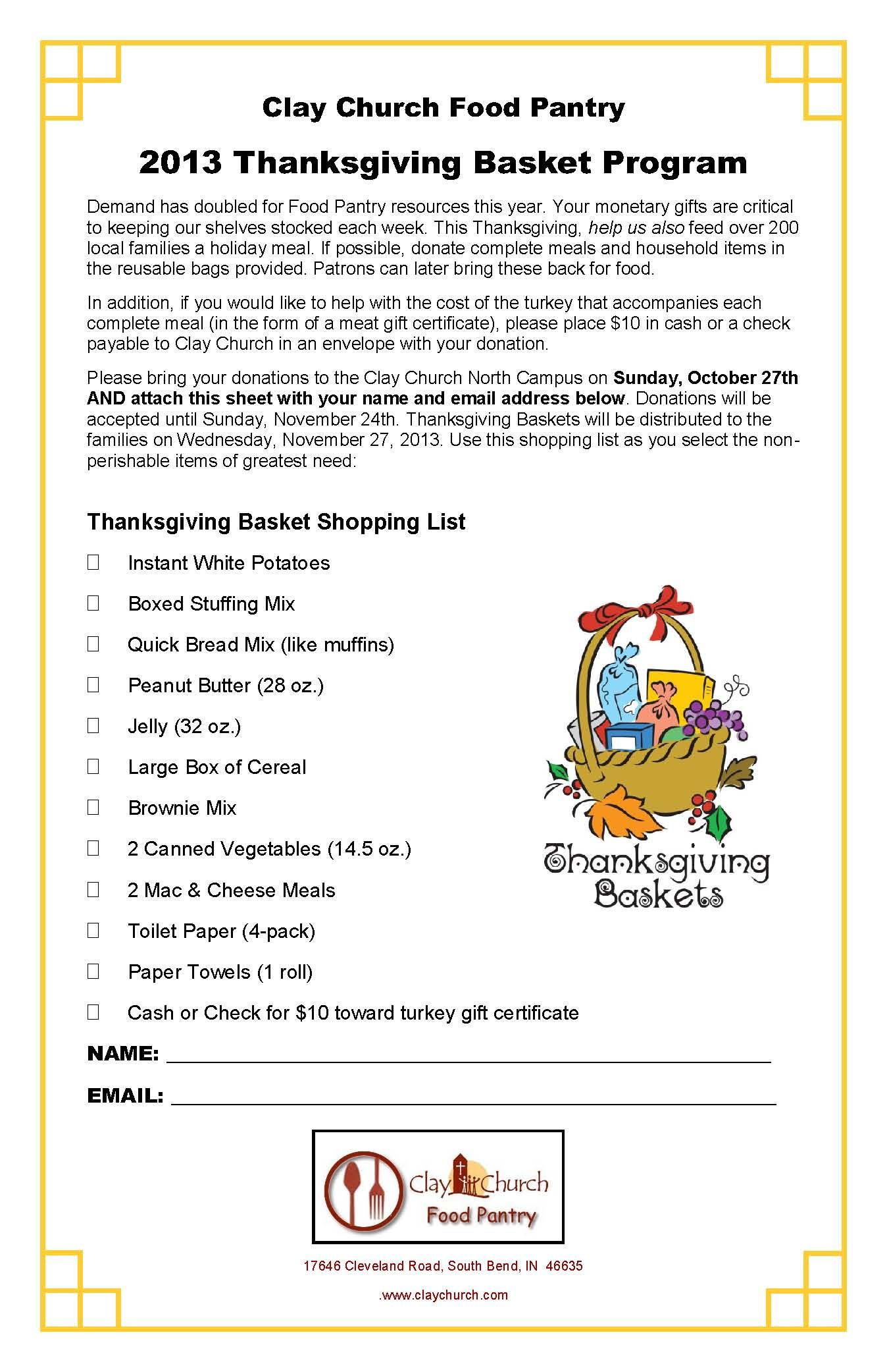 thanksgiving baskets for the needy - google search | community