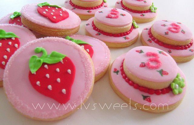 ... chiffon shortcake strawberry shortcake strawberry shortcake cookies