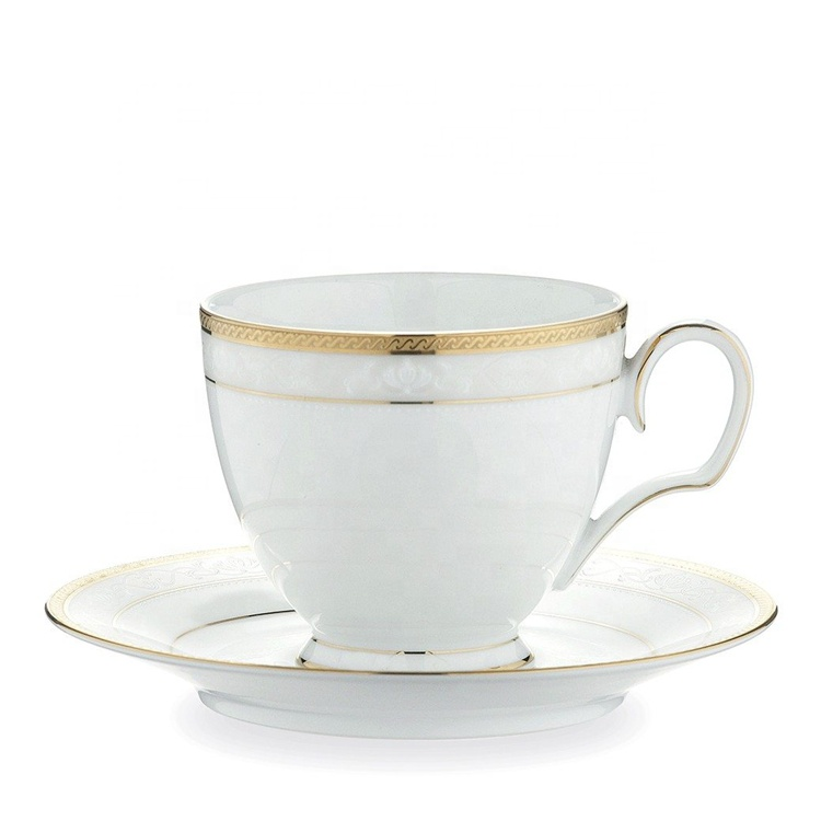 Luxury Design High Quality Arabic Ceramic Gold Rimmed Ceramics Coffee Tea Cups Wit Saucers Buy Cups Tea Ceramic Ar Tea Cups Cup And Saucer Set Tea Cup Saucer