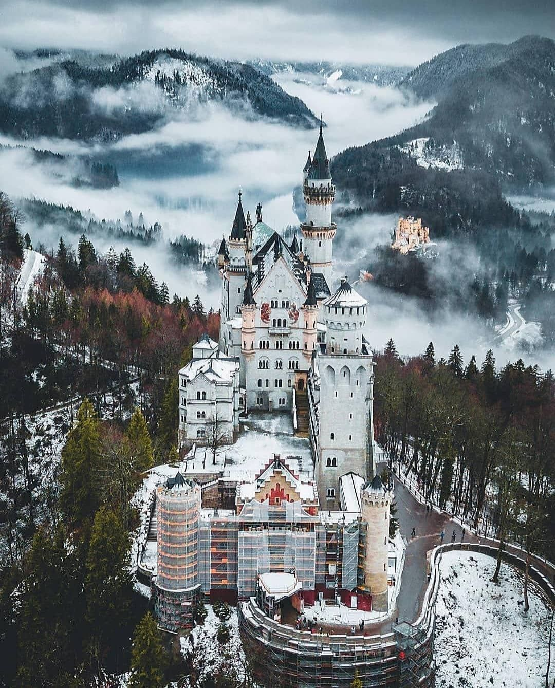 The most amazing castle in Germany. Neuschwanstein