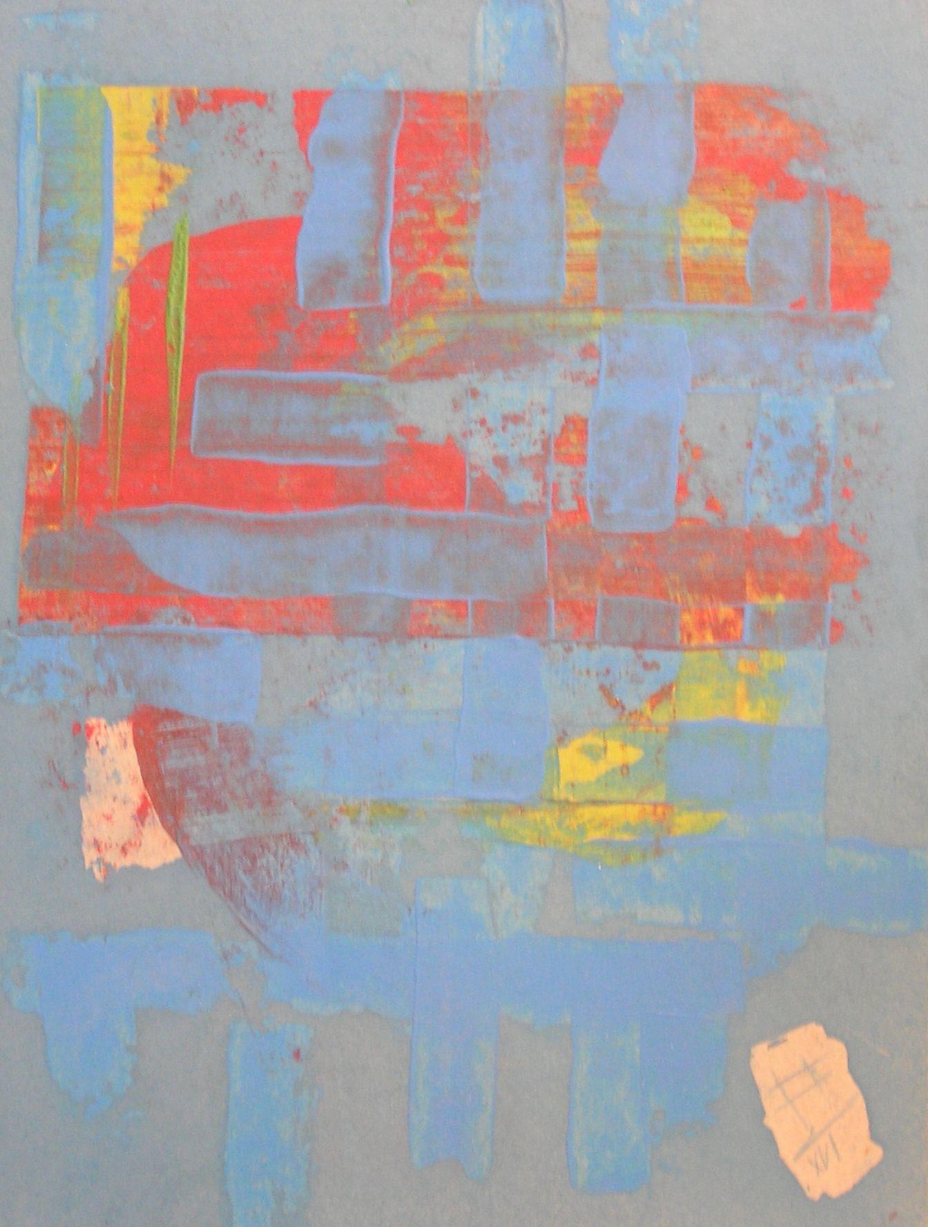 nil is something / oil,acrylic,pedrage,cardboard - Petr Chmel