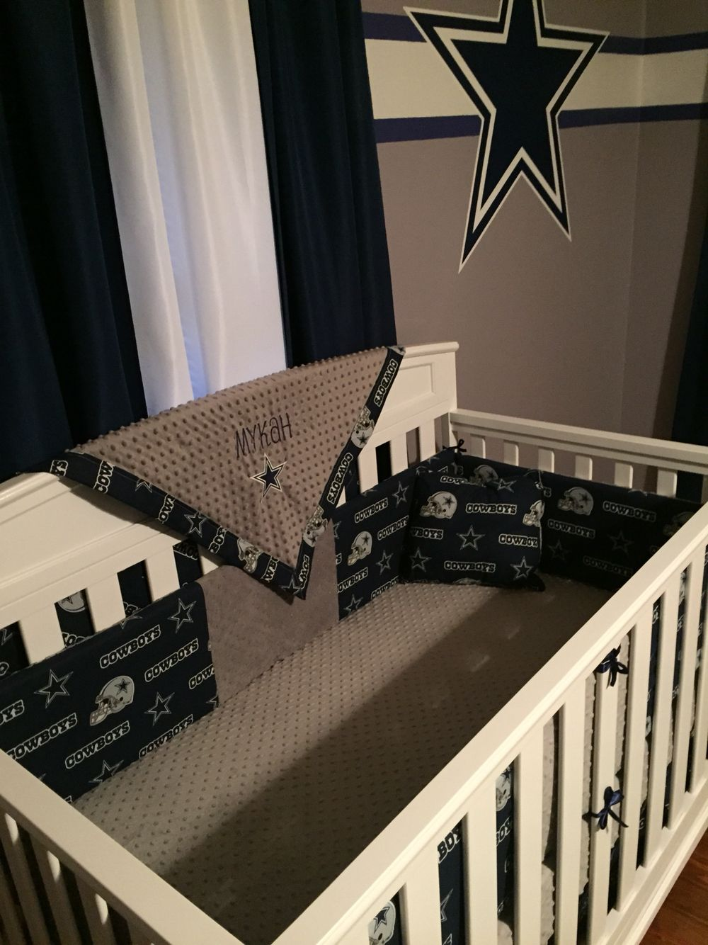 Used crib for sale dallas - Dallas Cowboys Nursery