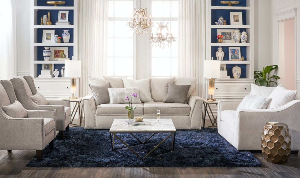 Shop The Look Value City Furniture And Mattresses In 2020 Living Room Seating Kid Room Style Value City Furniture #shop #the #look #living #room