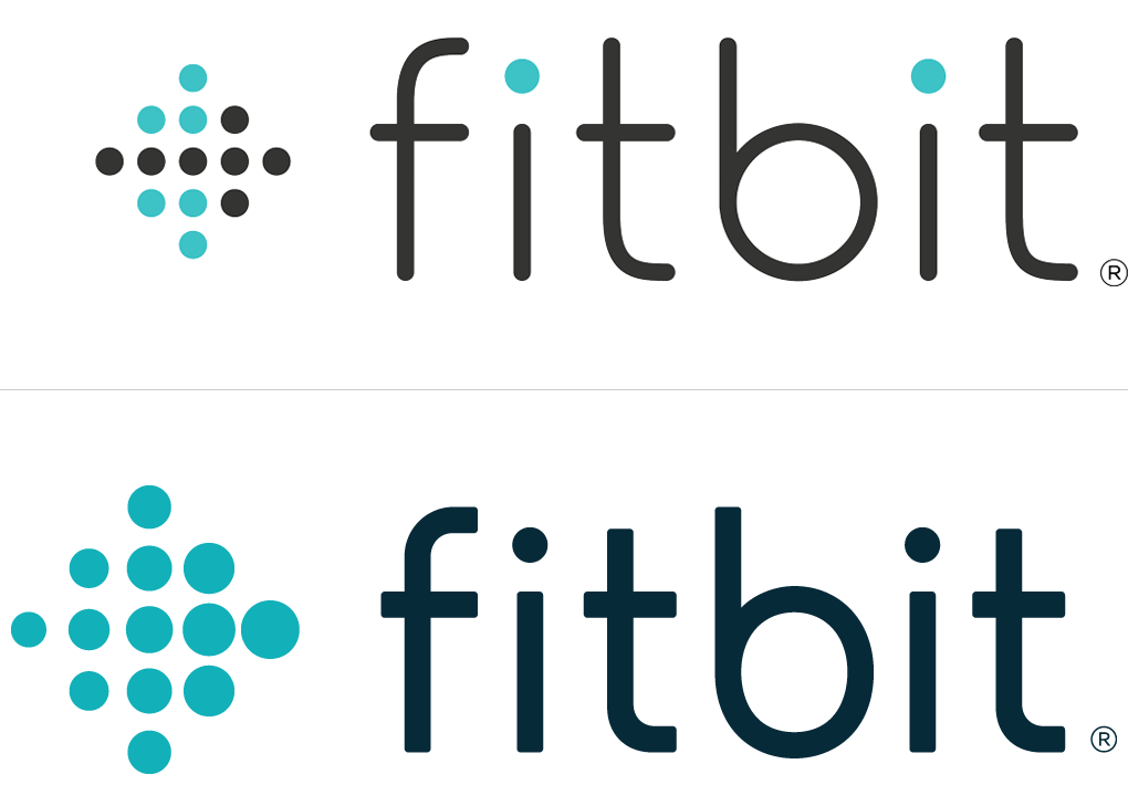Brand New: New Logo for Fitbit   Logos, Logos design, Fitbit