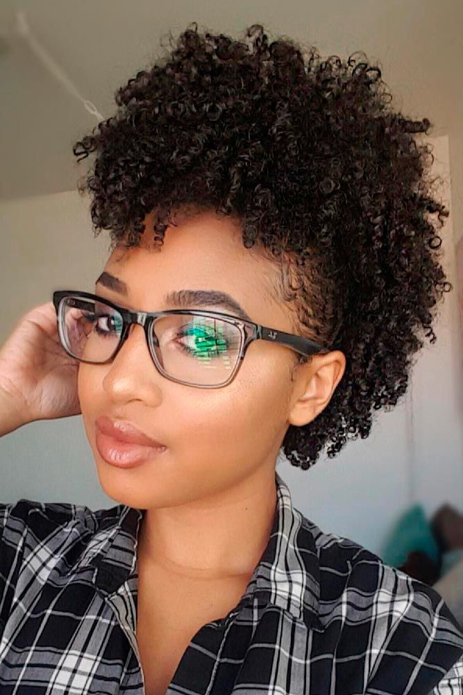 Trendy Natural Hair Mohawk Styles Natural Hair Pinterest