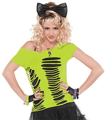 Amazon.com Ripped T-Shirt Womens Standard Toys u0026 Games. Easy 80s CostumeCostume ...  sc 1 st  Pinterest & Ripped T-Shirt Totally 80u0027s http://www.amazon.com/dp/B00KY48RL6/ref ...