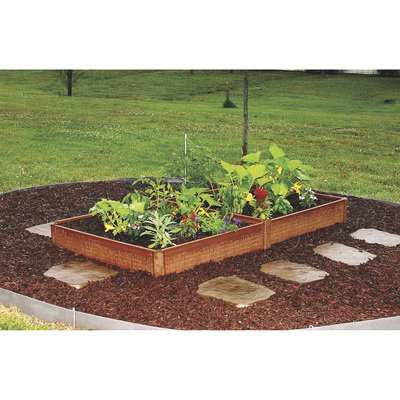 455d6c589cee9cf1d8f61f99b65fa8ba - Greenland Gardener Cedar Garden Bed Kit
