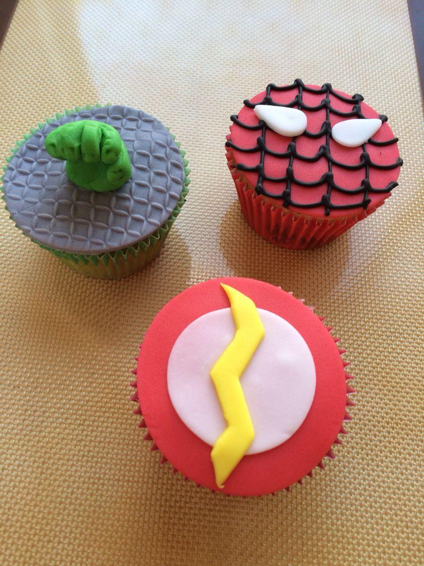 Super-herói cupcake