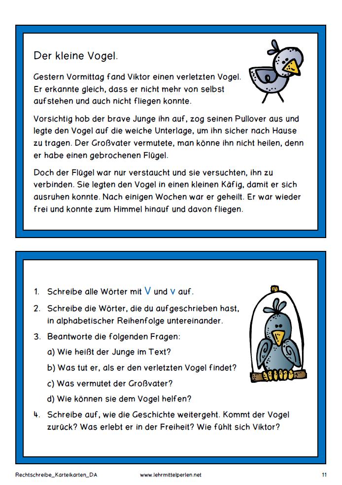 Neue Lesetexte für die 1 bis 6 Klasse  német