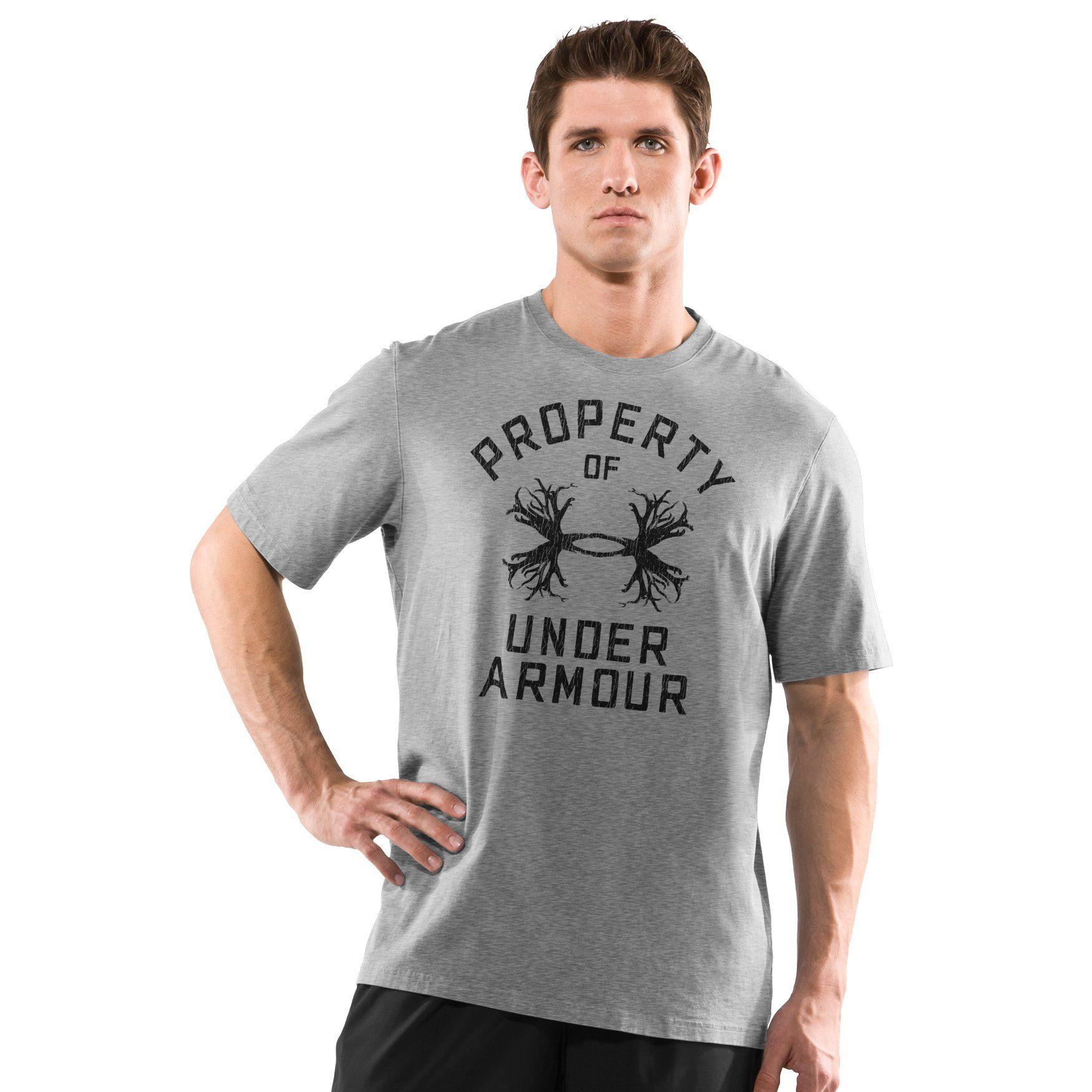 Under Armour Men's UA Antler Property Graphic T-Shirt