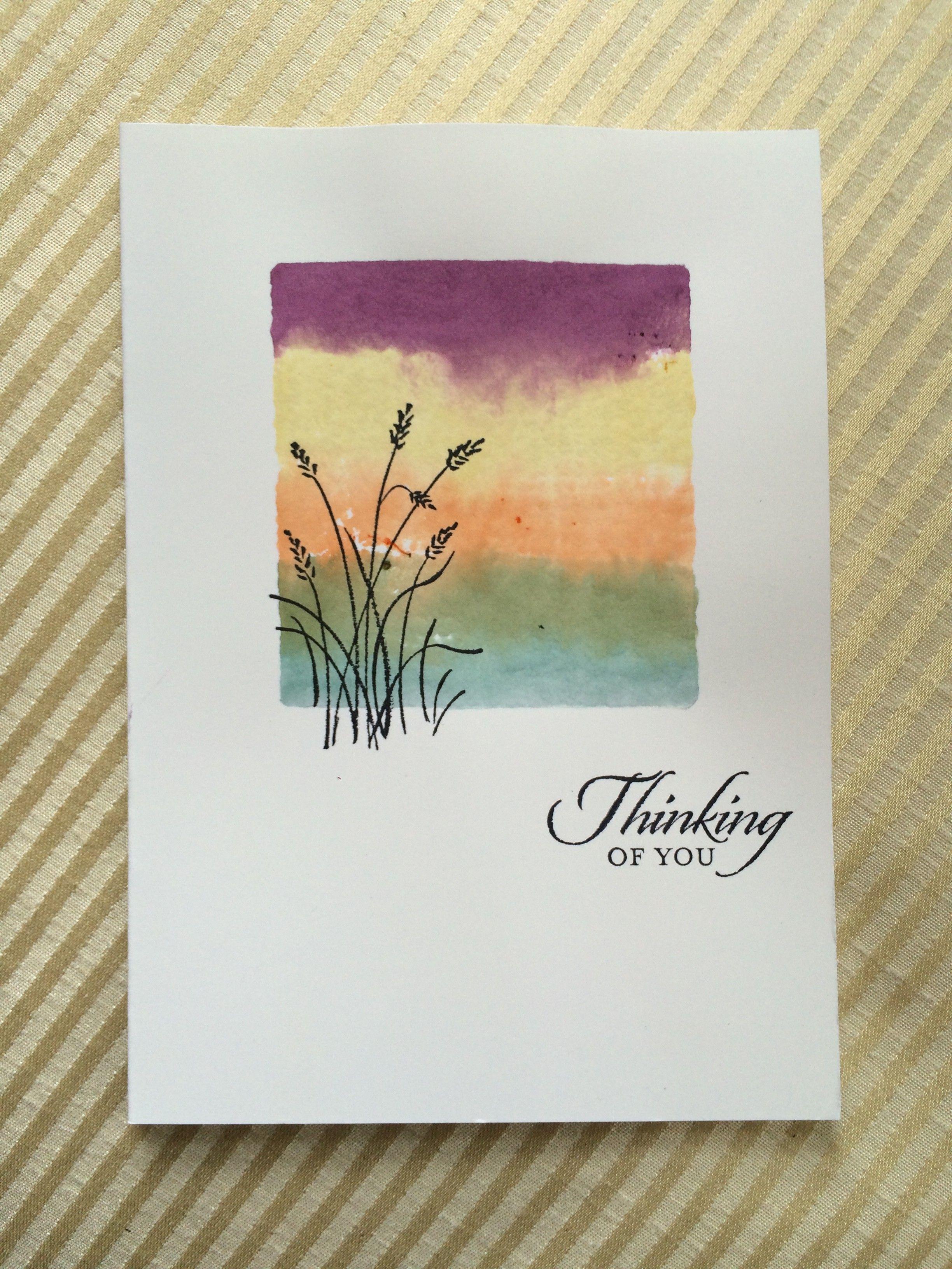 Как сделать акварельную открытку своими руками, открытки днем рождения