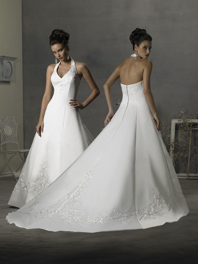 halterneck wedding dresses - Google Search | my ideal wedding ...