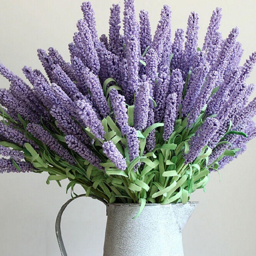 12 headbouquet artificial lavender silk flowers bouquet home garden 12 headbouquet artificial lavender silk flowers bouquet home garden decoration 4 colors affiliate mightylinksfo
